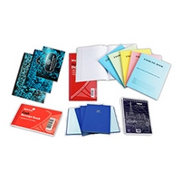 WRITING PADS, NOTE BOOKS, REGISTERS
