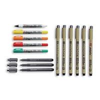 Microperm, Identity Pen & Pigma Micron