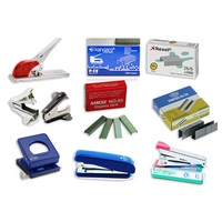 STAPLERS / STAPLE PINS / STAPLE PIN REMOVERS