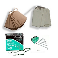 TREASURY TAGS/LUGGAGE TAGS
