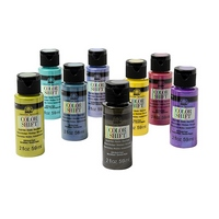 Folkart Color Shift Acrylic Paints