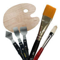 Brushes & Painting Tools
