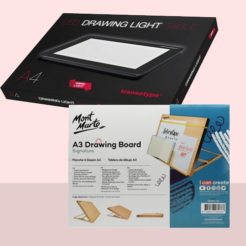 Drawing Boards & Lights