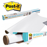 DRY ERASE SURFACE ROLLS
