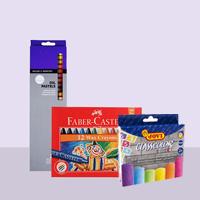Pastels, Chalk & Crayons