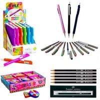 Pencils, Pens, Correctors