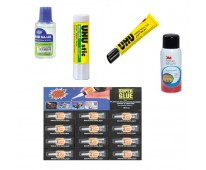 GLUE STICS & ADHESIVE MATERIALS