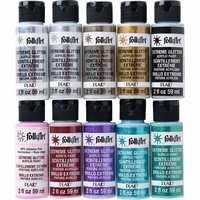 Folkart Extreme Glitter Multi Surface Paints