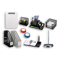 DESKTOP ORGANISERS & ACCESSORIES