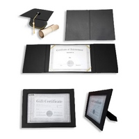 PU LEATHER CERTIFICATE FOLDERS & FRAMES