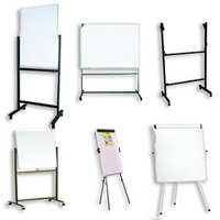 WHITE BOARDS WITH STANDS