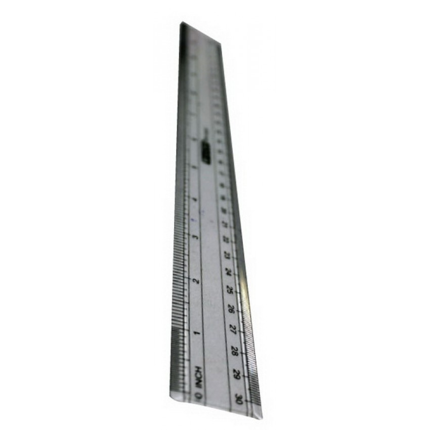 Scale 30cm Transparent plastic