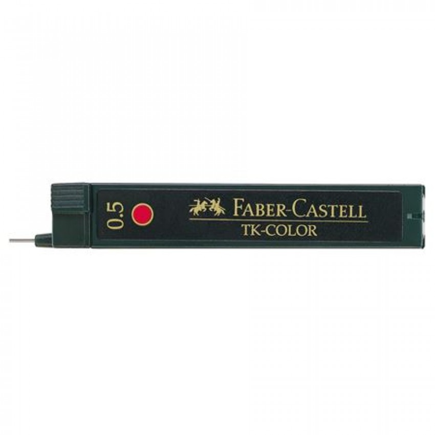 FABER-CASTELL TK COLORLEAD 0.5MM RED-128521