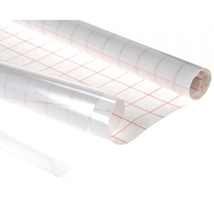 Transparent Self Adhesive Covering Film (Plain)