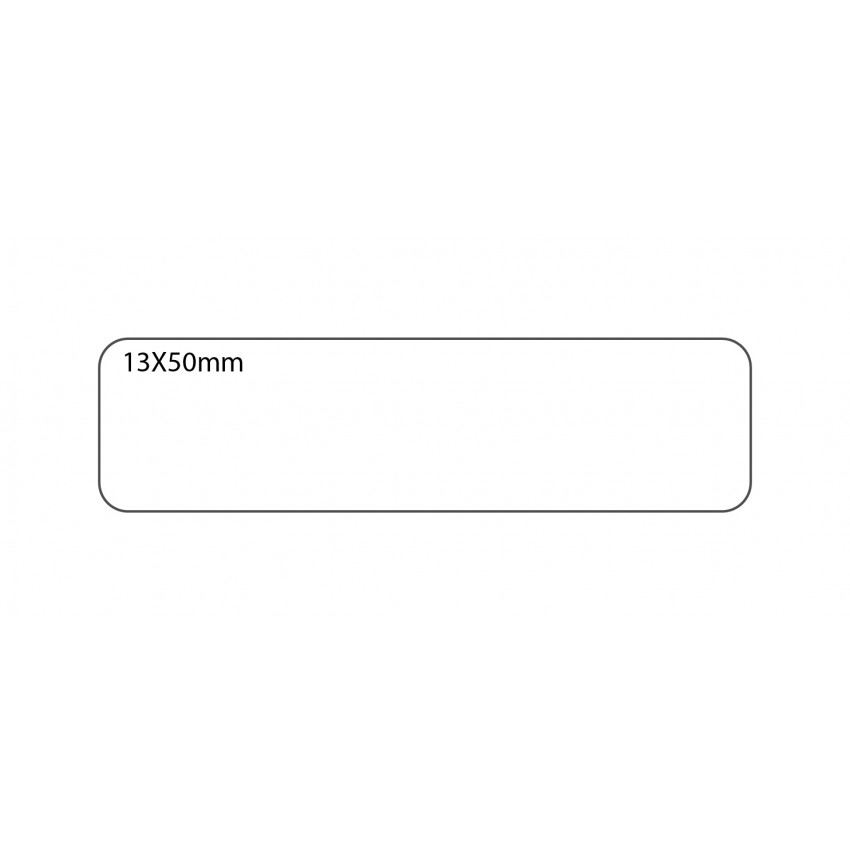 SELF ADHESIVE OFFICE LABEL-13X50mm
