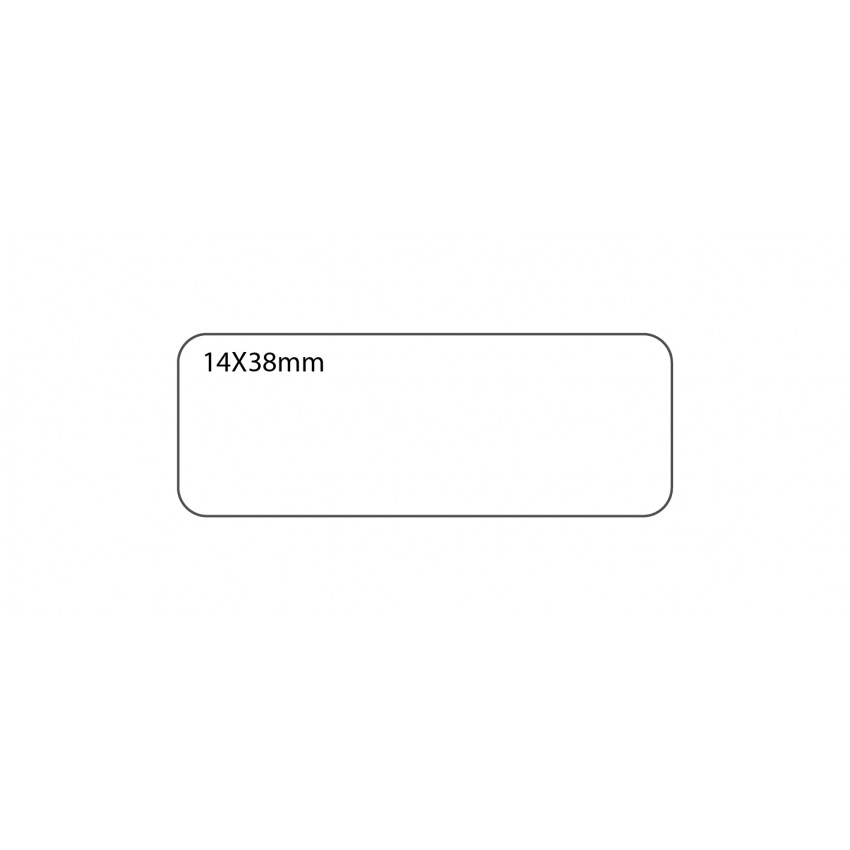 SELF ADHESIVE OFFICE LABEL-14X38mm