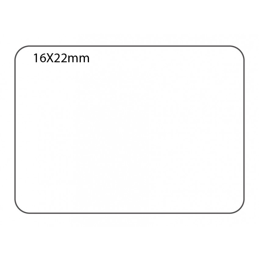 SELF ADHESIVE OFFICE LABEL-16X22mm