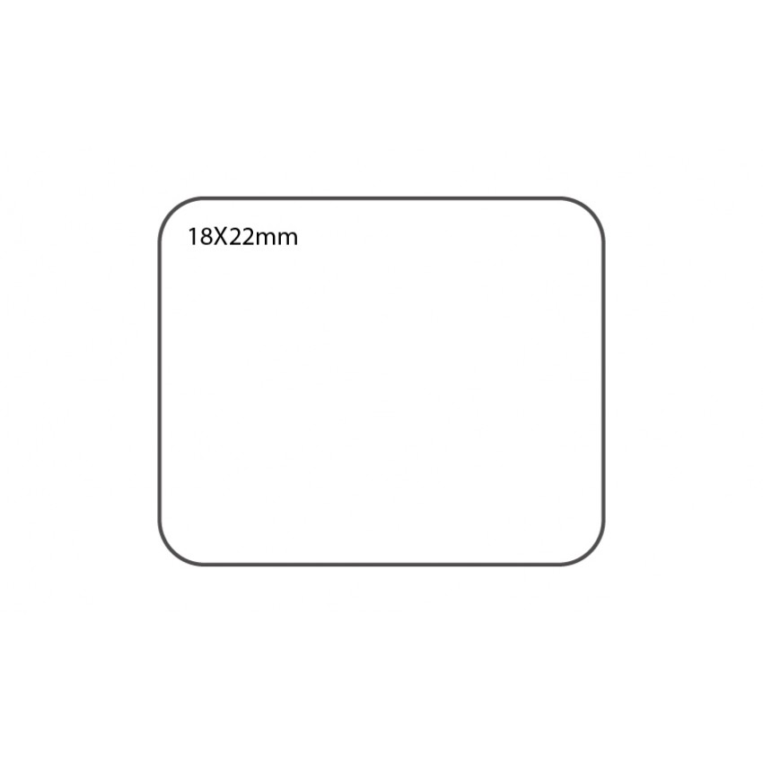 SELF ADHESIVE OFFICE LABEL-18X22mm