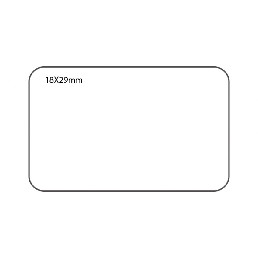 SELF ADHESIVE OFFICE LABEL-18X29mm