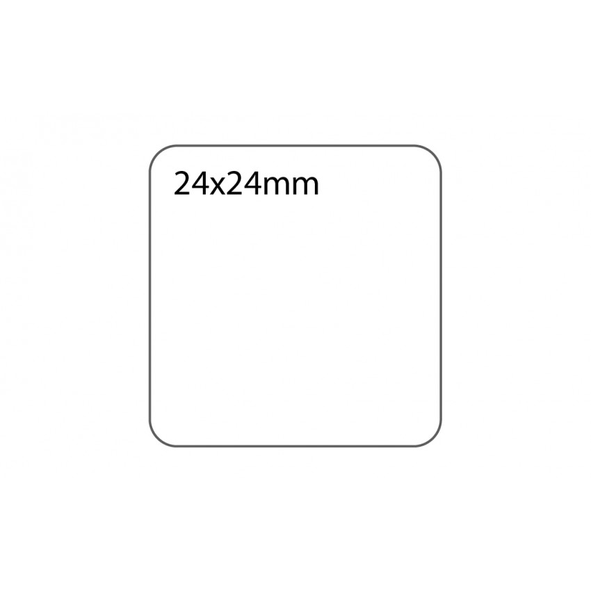 SELF ADHESIVE OFFICE LABEL-24X24mm