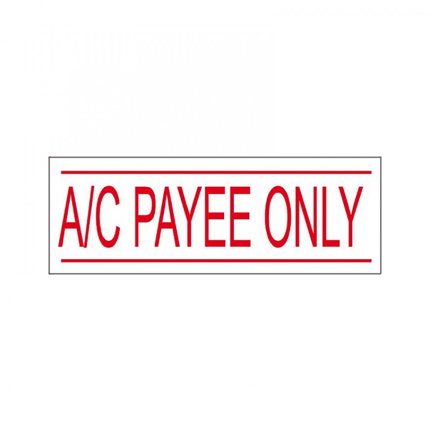 Self Ink Stamp - A/c Payee Only