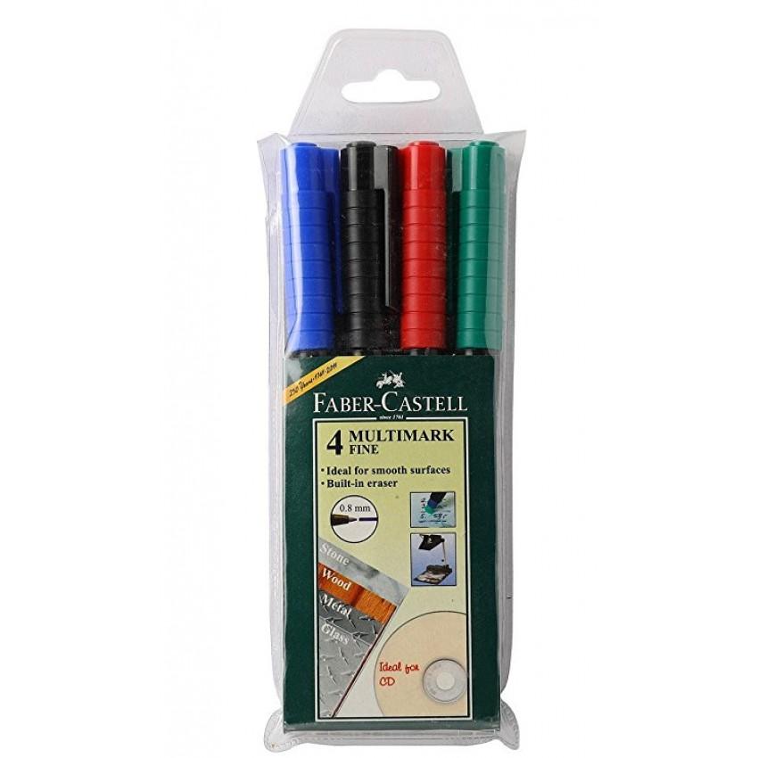 Overhead Marker Soluble (Fine) Fabercastell (multi colour) Pack