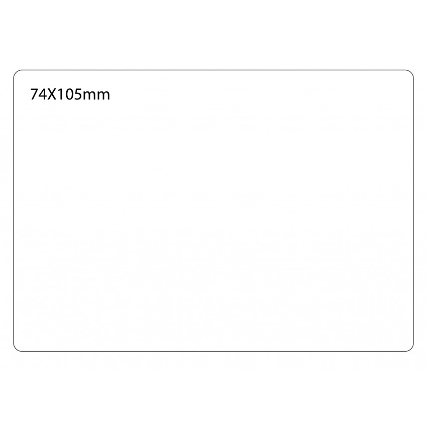 SELF ADHESIVE OFFICE LABEL-74X105mm
