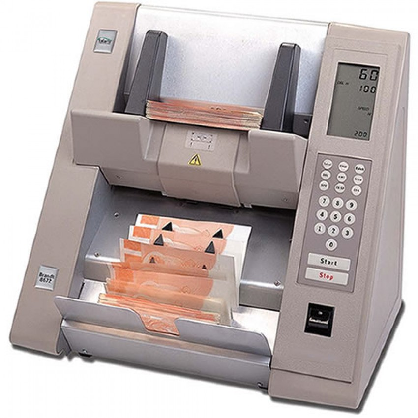 FRICTION HEAVY DUTY CASH COUNTING MACHINE BRANDT 8672 300
