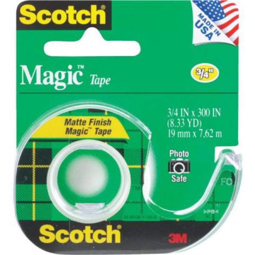 Scotch Magic Tape with Dispensr(S)Cat#105
