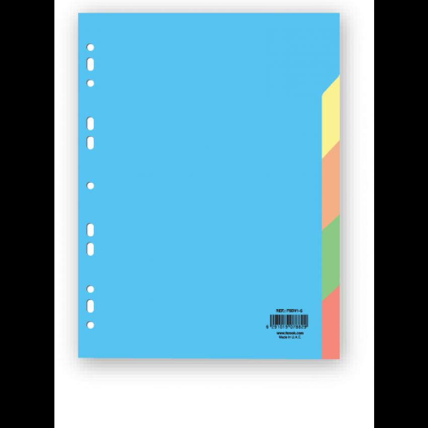Divider 5 colour Paper A4