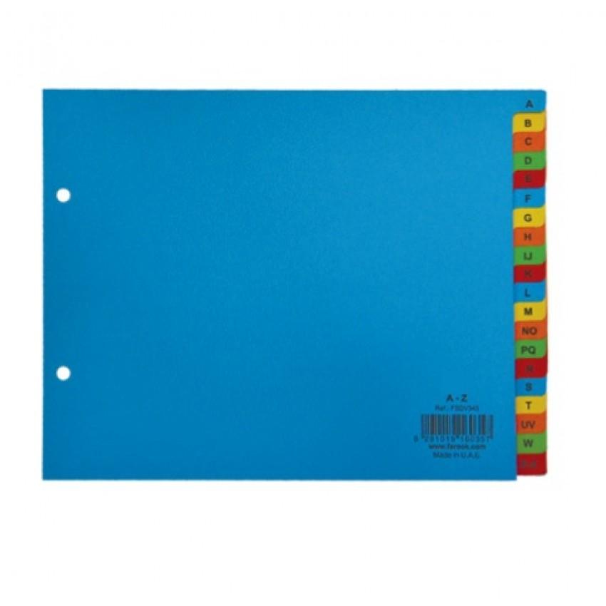 Divider Paper (A-Z) A5 Colour
