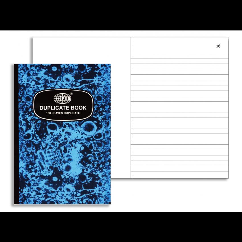 Duplicate Book (FIS) A6 Size