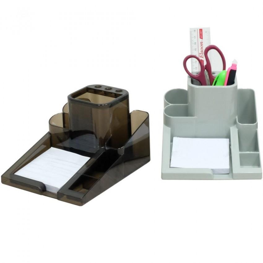 Elsoon LS98 Desk Organizer with Memopad