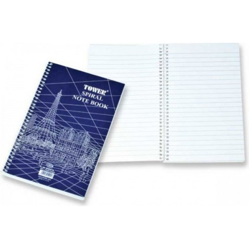 Writing Pad Tower A4 Size with Side Spiral