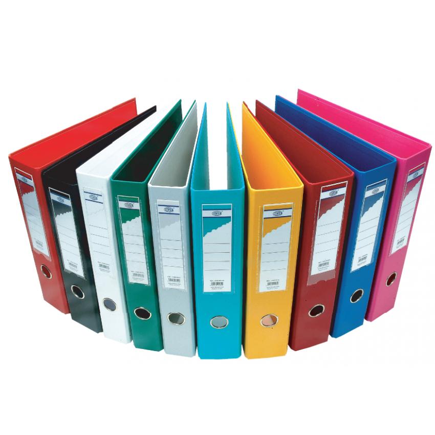 Boxfile (FIS) A4 size broad 8cm pvc - Colour