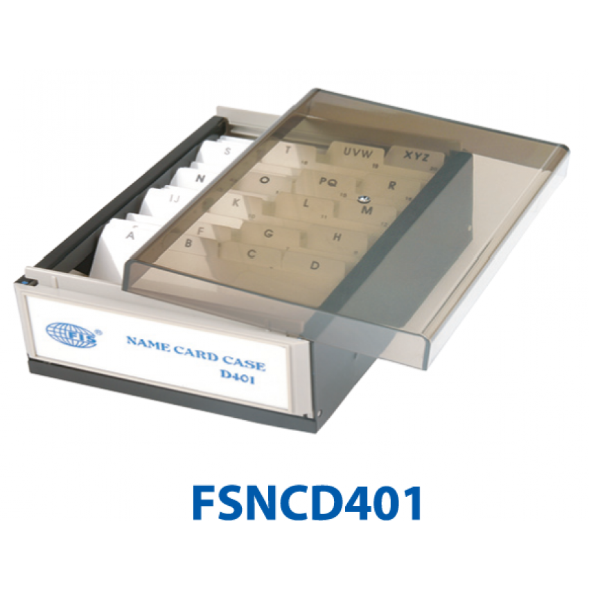 Business Card Box FIS-400cards
