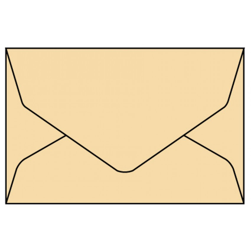 Envelope Brown 7.5*5 inches