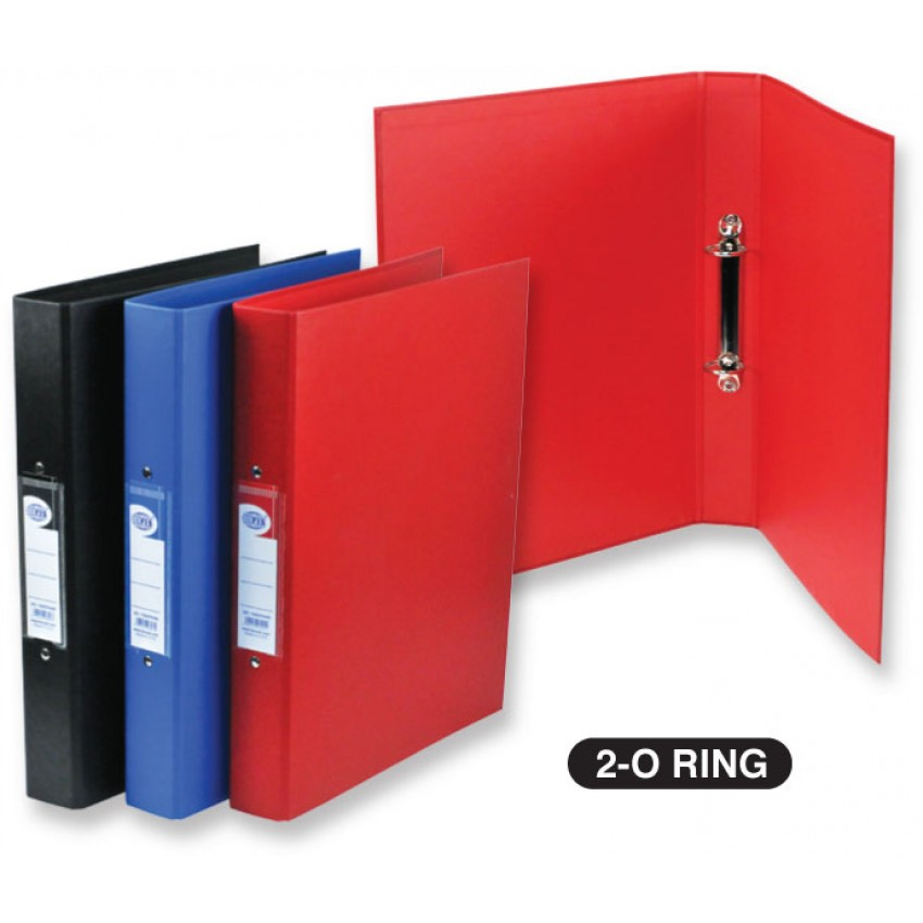 2 Ring Binder 0.25 inches Pvc A4 SIZE