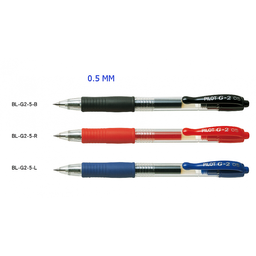 Pilot G2 Pen with Clip