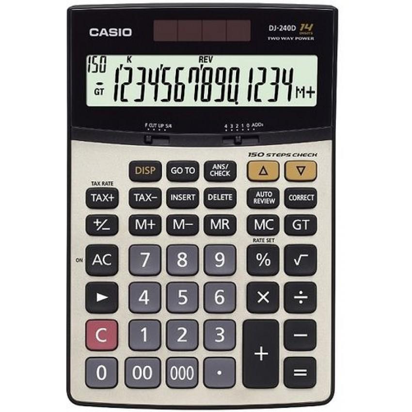 Calculator Casio DJ-240 (14 Digit)