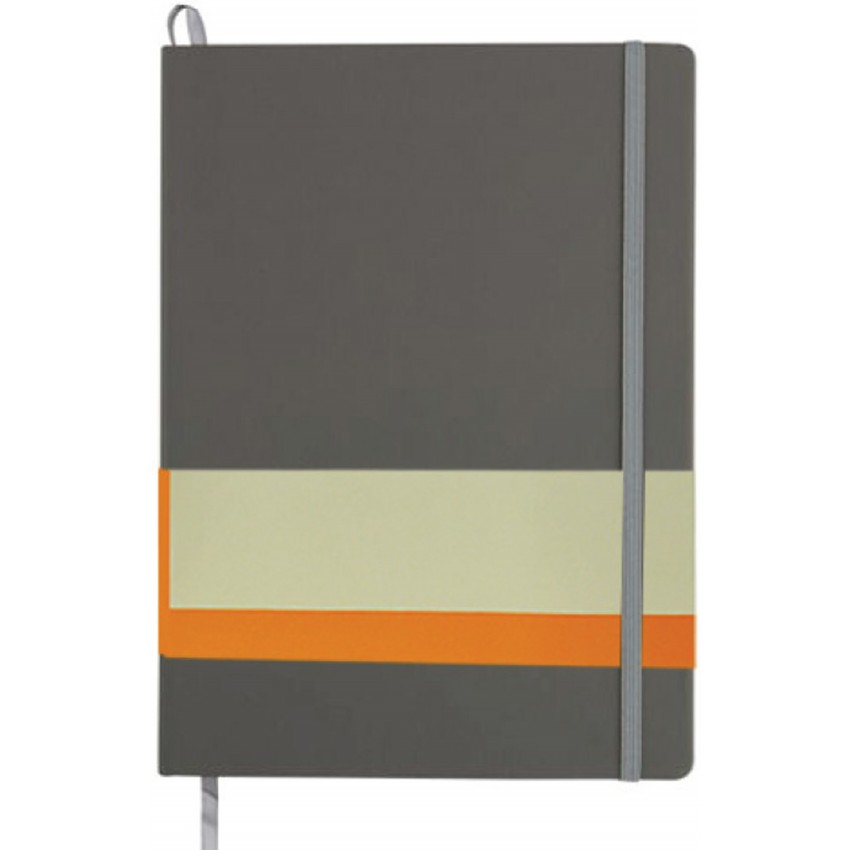 AMS-NBSN-115 - RULBUK - SANTHOME Soft Cover A5 Notebooks - (Ruled sheets)