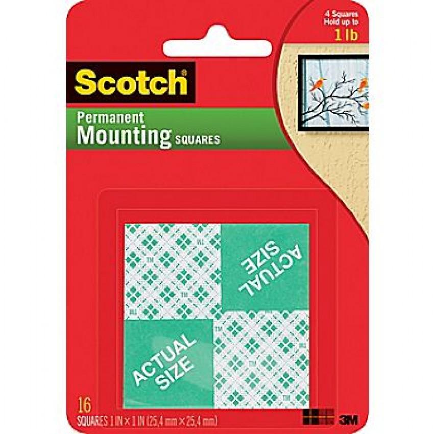 Scotch Foam Mounting Squares