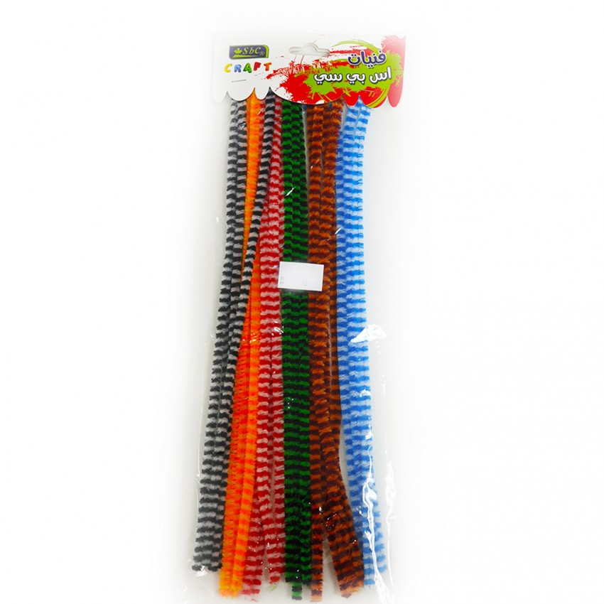 Pipe Cleaner Fabric 28pcs Assorted colour set