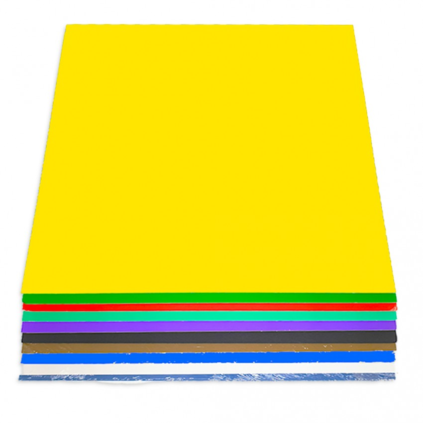 Foam Board Assorted Colour 50x70cm