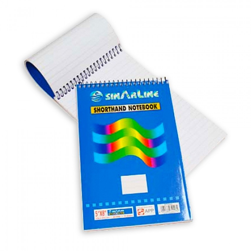 Shorthand Pad Sinarline A5 size