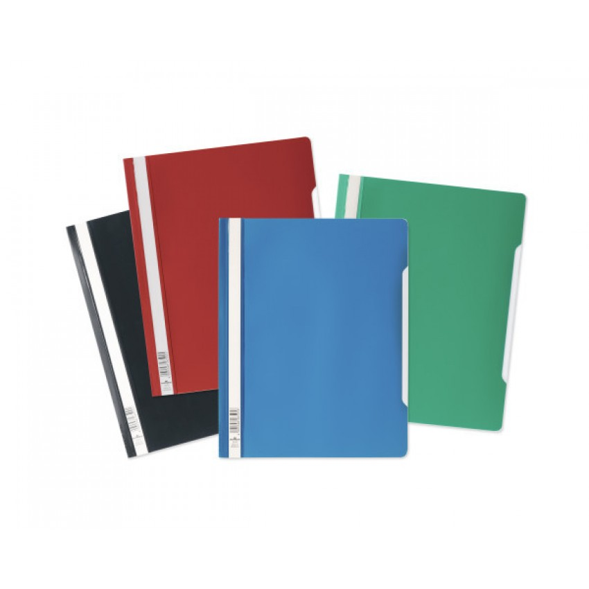 Durable 2570 Plastic File with metal clip