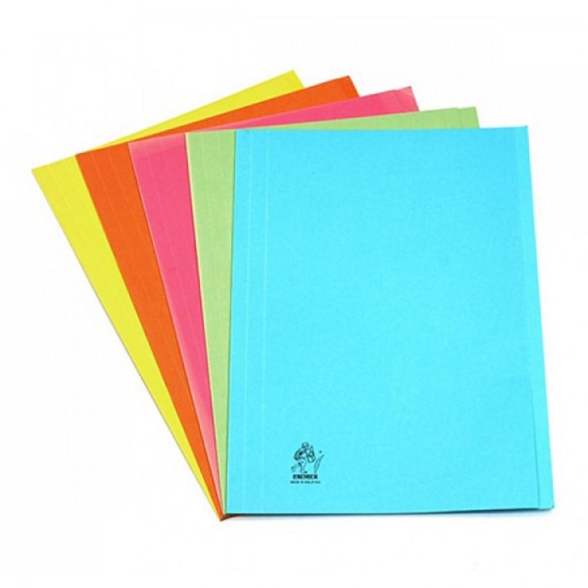 Square Cut Folder Without Metal Fastner fullscap Size