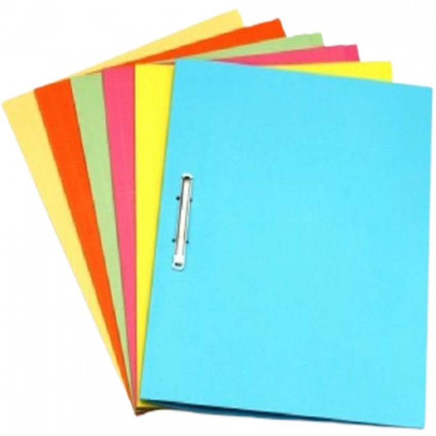 Square Cut Folder with Metal Fastner A4 size