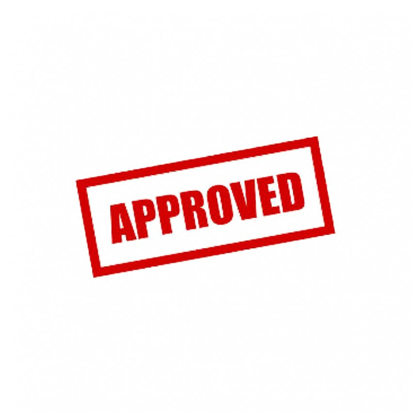 Self Ink Stamp Approved