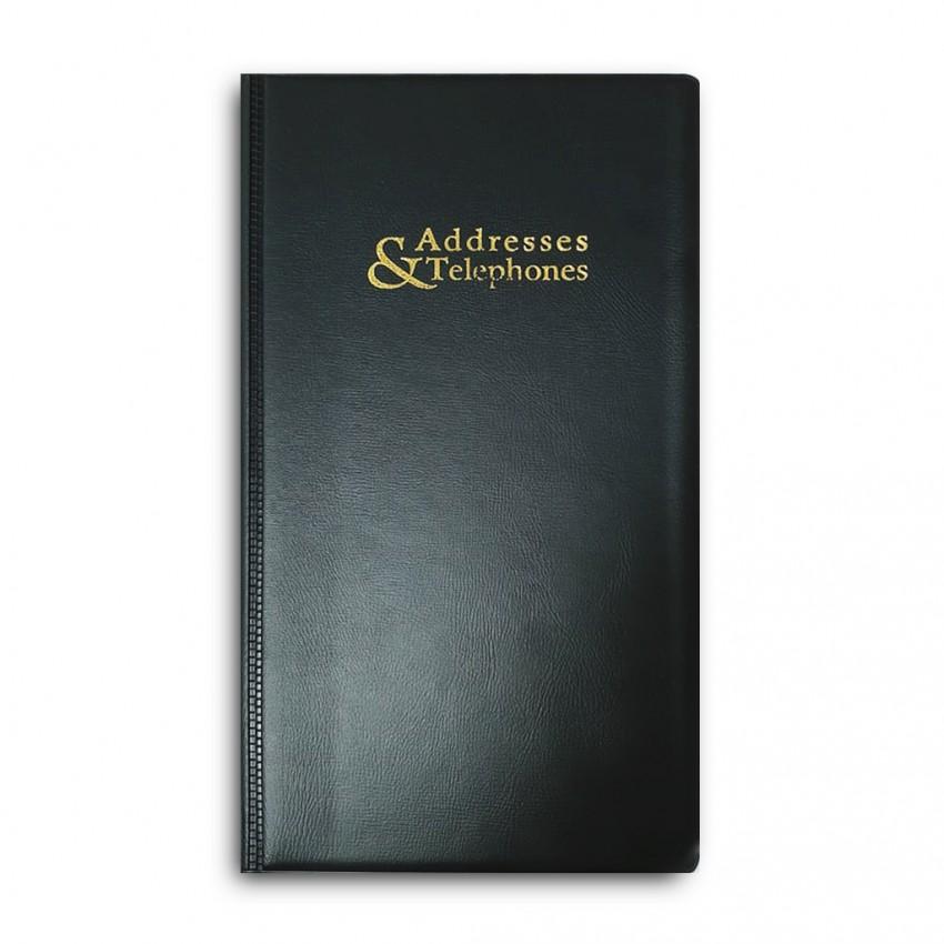 Telephone Index Book REF#1753 Pvc Cover